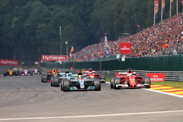 Belgian Grand Prix, Spa-Francorchamps 24 - 27 August 2017